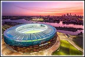 Optus Stadium venue hire