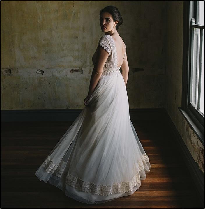 Zolotas australia bridal couture wedding dresses perth for Vintage wedding dresses perth