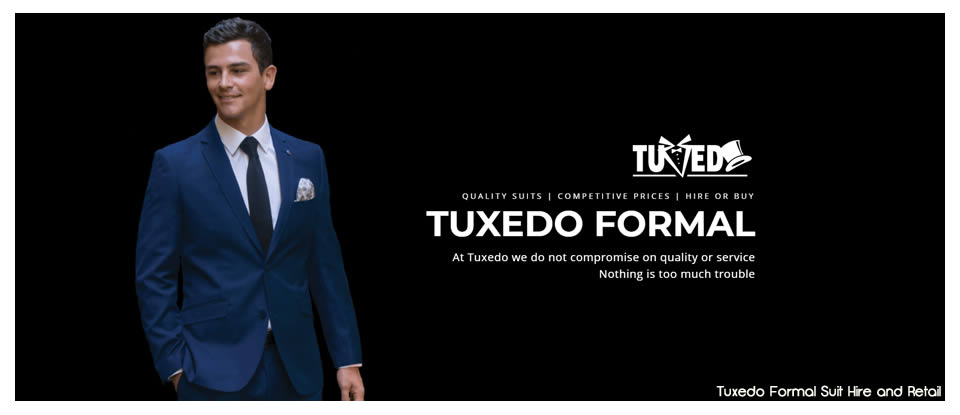 Tuxedo Hire Perth & South West | Menswear, Wedding Suit Hire